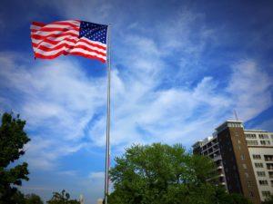 Flag at Turner Park