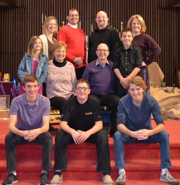 Ray Martin and Family