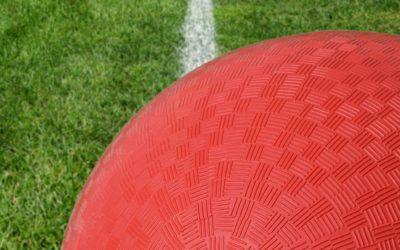 Kickball in Turner Park